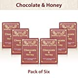 Amazing Ayurveda Premium Handmade Soap Gentle Handmade 100% Cold Pressed Soap Made Using Natures Finest Herbs And Oils No Synthetic Preservatives, Colors Or Fragrances. Chocolate & Honey 4.4 Ounce (Pack Of 6)