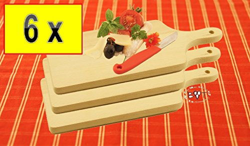 6x raclette brettchen pizza brett bruschetta fonduebrett picknick bruschetta und. Black Bedroom Furniture Sets. Home Design Ideas