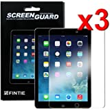 Fintie Apple iPad Air 2 / iPad Air Screen Protector - 3-Pack Clear Premium Screen Protector Film Guard for iPad Air (2013 Model) & iPad Air 2 (2014 Model)