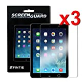 Fintie Apple iPad Air / iPad 5 Screen Protector – 3-Pack Clear Premium Screen Protector Film Guard for iPad 5 Air (5th Generation)