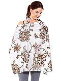 Simplicity Breastfeeding Baby Nursing Cover, Grey