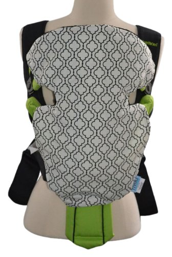 Tivoli Couture Reversible Baby Carrier Slip Cover, Metro White front-166657