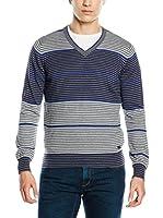 Trussardi Jeans Jersey (Gris / Azul)