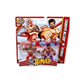 Tensai and Justin Gabriel WWE Rumblers Action Figure 2 Pack