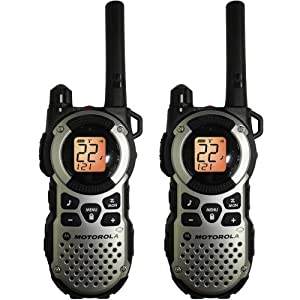 Motorola Mt352r Giant FRS Weatherproof Two-way 35 Mile Radio Pack Silver