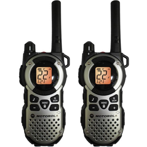 Motorola MT352R Giant FRS Weatherproof Two-Way - 35 Mile Radio Pack - Silver