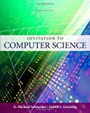 img - for Invitation to Computer Science 5TH EDITION [PB,2009] book / textbook / text book