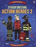 Sticker Dressing Action Heroes 2 (Usborne Sticker Dressing)