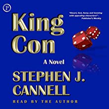 King Con: A Novel (       ABRIDGED) by Stephen J. Cannell Narrated by Stephen J. Cannell
