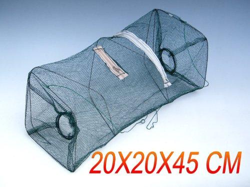 2Pcs Lot Fishing Collapsible Crabfish Collapsible Trap Cast Keep Nets Cage Crab fish Shrimp Lobster Crawfish
