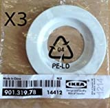 3 x Ikea Lamp Shade Reducer Ring / Adaptor