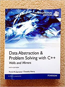 data abstraction problem solving with c++ pdf
