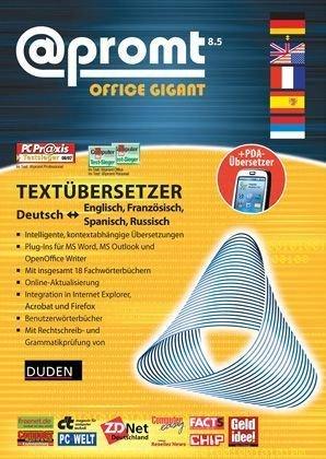 promt Office 8.5 Gigant Deutsch - Englisch, Französisch, Spanisch und Russisch