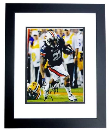 Tre Mason Autographed Auburn Tigers 8x10 Photo BLACK CUSTOM FRAME - Autographed College Photos at Amazon.com