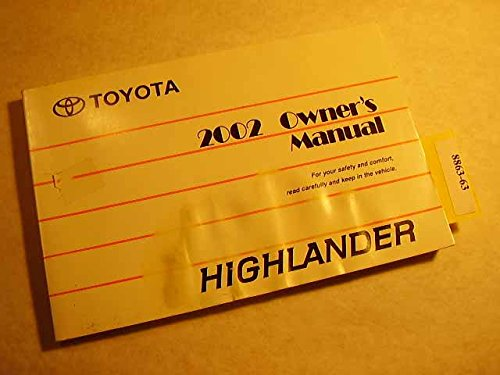 2002-toyota-highlander-owners-manual