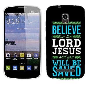 Amazon.com: For Alcatel One Touch Pop Star LTE Believe Jesus plastic