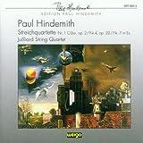 Hindemith : Quatuors n° 1, 4 & 7
