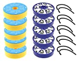 First4spares Washable Pre Motor Filters and Post Motor Allergy HEPA Filters with Seals Kit For Dyson DC05 DC08 Vacuum Cleaners (5 of Each)