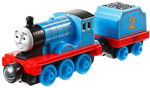 Fisher Price CBN31 - Trenino Thomas Take'n Play Veicolo Large Edward, Multicolore