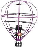 3ch IRC 気球型 ヘリコプター フライング バルーン 紫