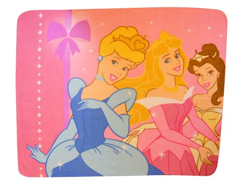 Character World Disney Princess Chandelier Fleece Blanket