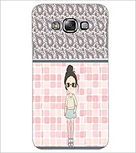 PrintDhaba Cute Girl D-2758 Back Case Cover for SAMSUNG GALAXY GRAND 3 (Multi-Coloured)