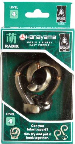Imagen de Bepuzzled Hanayama Cast Puzzles de metal Rompecabezas - Puzzle Hanayama Radix (Nivel 4)