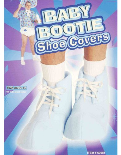 Forum Novelties Baby Bootie Shoe Covers - Blue