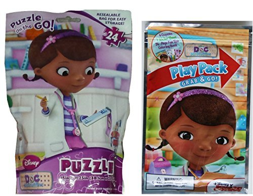 Disney Doc Mcstuffins 24-piece Puzzle with Grab and Go Play Pack - 1
