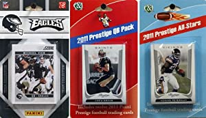 NFL Philadelphia Eagles Licensed 2011 Score Team Set with Twelve Card 2011 Prestige... by C&I Collectables