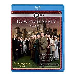 Downton Abbey Season 2 Original Uk Edition Blu-ray by PBS (DIRECT)