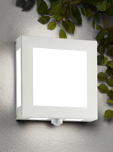 CMD Aqua Legendo type de Revêtement en poudre Blanc 82/BM Applique murale avec détecteur de mouvement