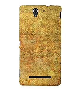 Abstract Painting Cute Fashion 3D Hard Polycarbonate Designer Back Case Cover for Sony Xperia C3 Dual :: Sony Xperia C3 Dual D2502