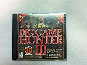 Cabela's Big Game Hunter 3 (Jewel Case) - PC