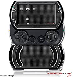 Carbon Fiber And Chrome Decal Style Skins (Fits Sony Ps Pgo)