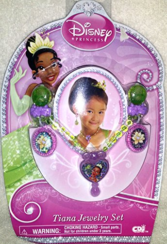 Disney Princess Tiana Jewelry Set - 1