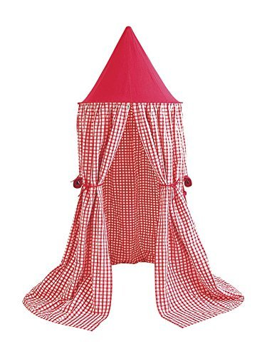 Win Green Red Gingham Hanging Tent by Win Green online bestellen