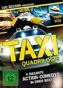Taxi Qu4drilogie (Slimcases mit Wendecover) [Special Edition] [4 DVDs]