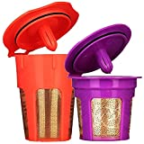 Brew-Oro 24K Gold Reusable K Cup and K Carafe Coffee Filter Pod -...