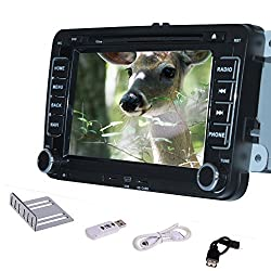 See Pupug 3G WiFi Car GPS Navigation Android 4.2 Car DVD Stereo Radio For Volkswagen VWBT TV PC Details