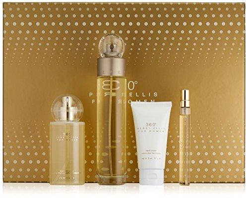 perry-ellis-fragrances-4-piece-360-for-women-gift-set-34-fluid-ounce