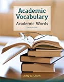 Academic Vocabulary: Academic Words (5th Edition)
