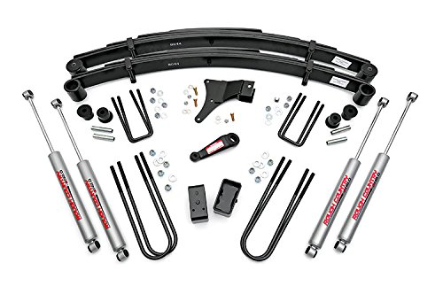 Rough Country - 491-86-98.20 - 4-inch Suspension Lift Kit w/ Premium N2.0 Shocks (Lift Kit For 97 Ford F350 compare prices)