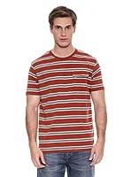 Springfield Camiseta B1 Rayas (Rojo)