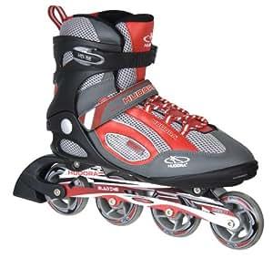 Hudora - 34940 - Vélo et Véhicule pour Enfant - Rollers Inlineskate HD - 88 - Pointure 40 - Châssis en Aluminium - ABEC 5