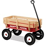 Radio Flyer Full Size All-Terrain Steel and Wood Wagon