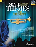 img - for MOVIE THEMES PLAY-ALONG FOR TRUMPET BK/CD (Schott Master Play-Along) book / textbook / text book
