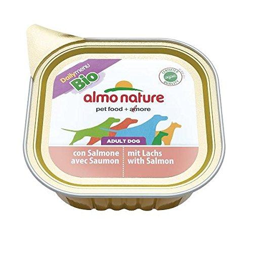 ALMO NATURE Daily menu bio salmone umido cane gr. 100 - Mangimi umidi per cani