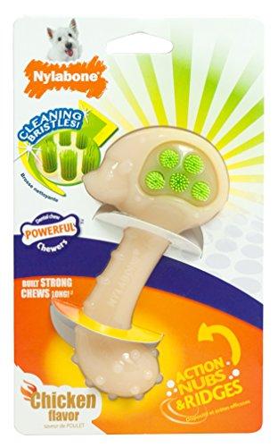 Nylabone Dental Chew Hedgehog Bristle Brush Dog Chew ntnt free post new bristle brush flexible beater brush for irobot roomba 500 series green