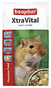 Beaphar XtraVital Gerbil Food 500 g (Pack of 5)